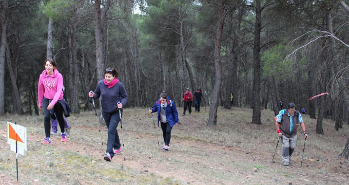 La XVII edición de la Marcha Comarcal contó con 280 participantes