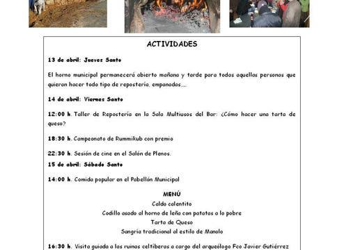 Semana Santa en Villarroya del Campo