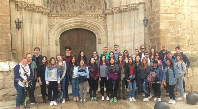 Alumnos de la Escuela de Turismo de Zaragoza visitan Daroca
