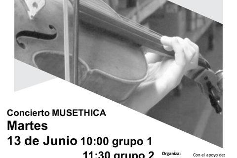 Musethica organiza dos conciertos en el centro penitenciario de Zuera