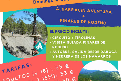 Un día de aventuras en la Sierra de Albarracín