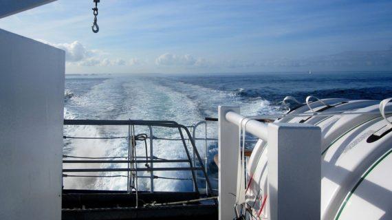 Viajar de forma original con un viaje en ferry