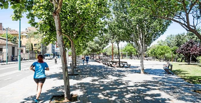Zaragoza reduce cerca de un 6% sus emisiones desde 2005