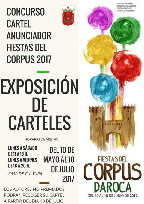 Todo preparado para las Fiestas del Corpus 2017