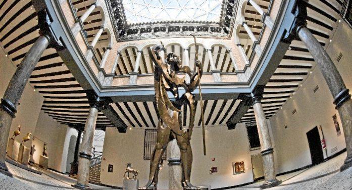 El Museo Pablo Gargallo acoge la actividad 'Un laberinto de esculturas'