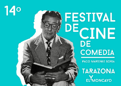 Una fotografía real de un joven Paco Martínez Soria protagoniza el cartel de la XIV edición del Festival de Cine de Tarazona y el Moncayo