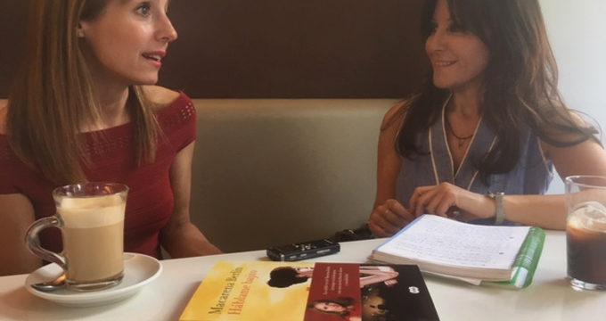 Macarena Berlín presenta en Zaragoza 'Háblame bajito'