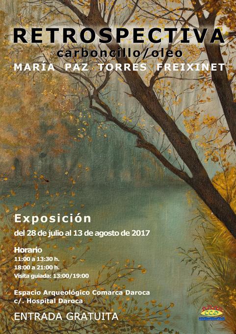 María Paz Torres presenta su particular 'Retrospectiva'