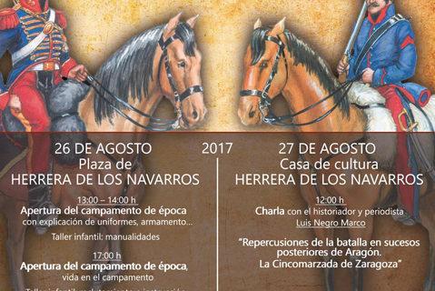 Herrera y Villar de los Navarros acogen la II Recreación histórica de la batalla carlista de 1837