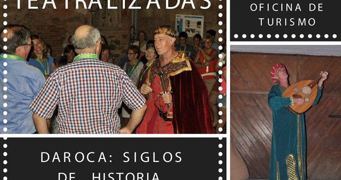 Las visitas teatralizadas regresan en agosto a la provincia de Zaragoza