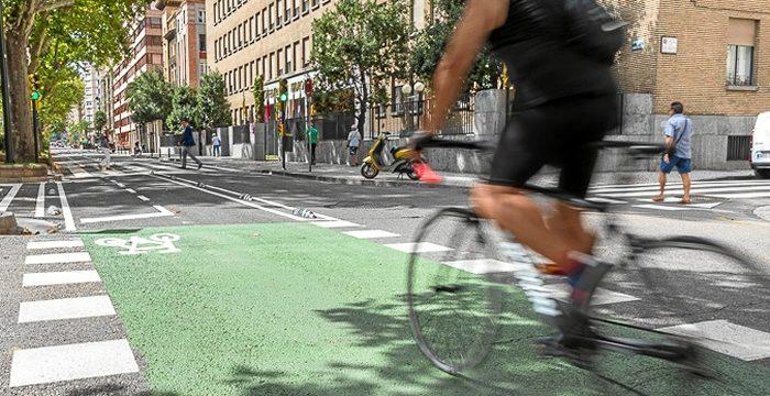 Comienzan las obras de la segunda fase del carril bici de Sagasta