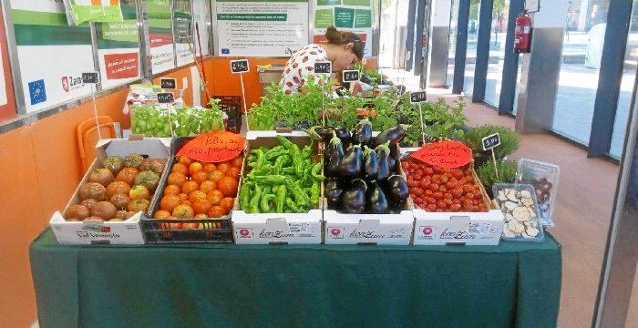 El puesto agroecológico del Mercado de Valdespartera vuelve a ofrecer productos frescos