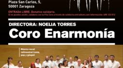 El Coro Enarmonía canta este domingo en el Ciclo Moncayo de Música Solidaria