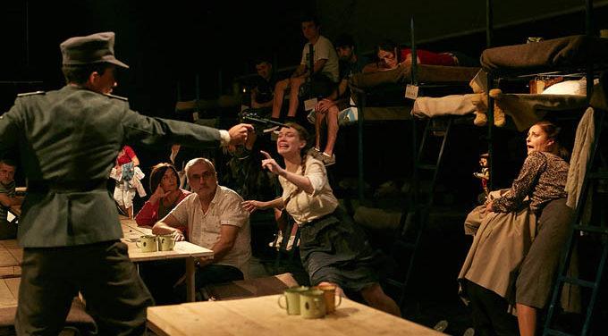 Vaivén Producciones representa en el Teatro de las Esquinas 'Último tren a Treblinka'