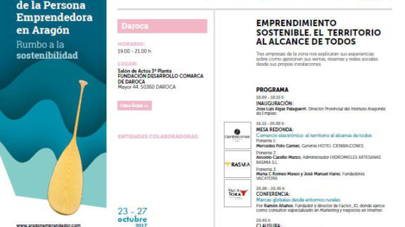 Jornada del Emprendedor en Daroca