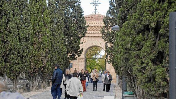 El Cementerio Municipal de Torrero acoge la celebración de Todos los Santos