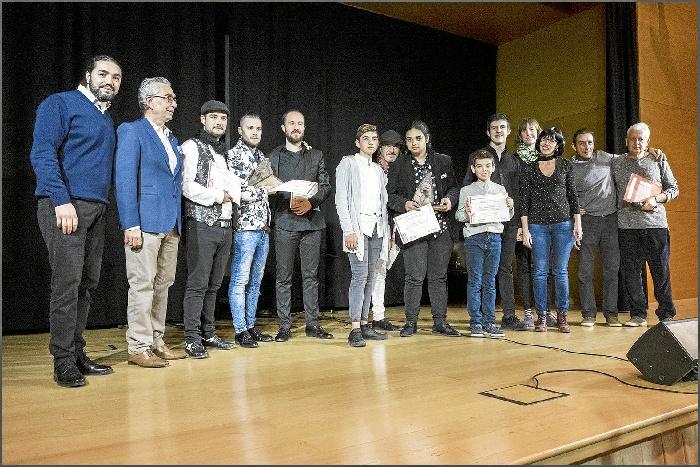 David Tejedor y Aarón Jiménez ganan el Concurso de Flamenco para Aficionados de Zaragoza