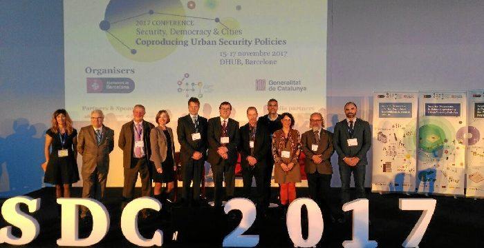 Zaragoza reafirma su presencia en el principal foro europeo de seguridad ciudadana