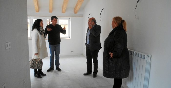 Calatayud rehabilita cuatro viviendas en la calle Herrer y Marco destinadas a usos sociales