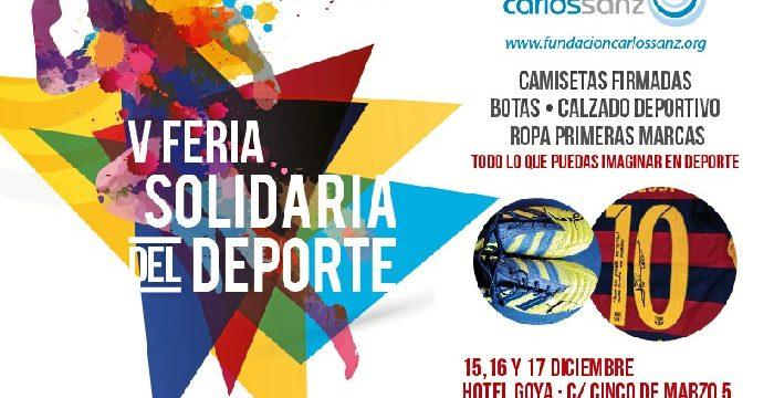 V Feria Solidaria del Deporte Fundación Carlos Sanz