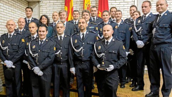 La Policía Local de Zaragoza cuenta con nuevos inspectores, subinspectores y oficiales