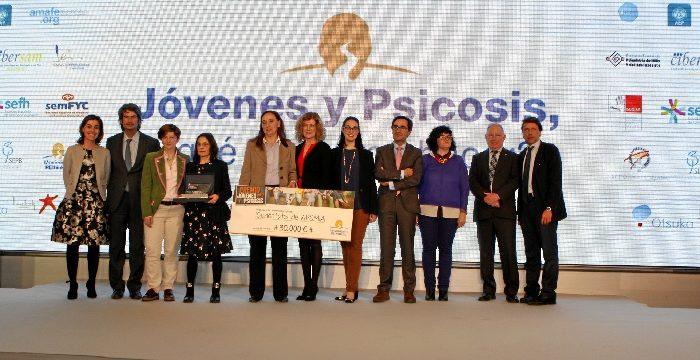 Una entidad aragonesa gana la primera edición del Premio Jóvenes y Psicosis 2018