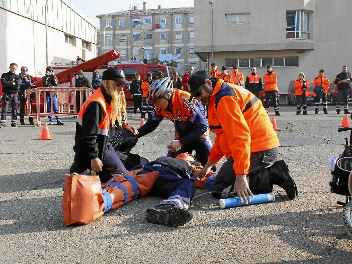 Abierto el plazo para inscribirse en el cuerpo de Voluntariado de Protección Civil de Zaragoza