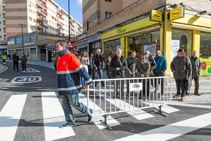 Finalizadas las obras de la calle Oviedo de Zaragoza