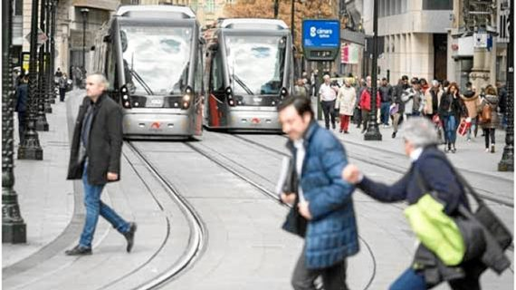 El tranvía de Zaragoza refuerza su seña de identidad más preciada: la seguridad