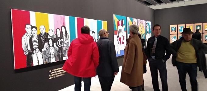 Últimos días para visitar la 'Felicidad absoluta' de Sergio Muro en el IAACC Pablo Serrano