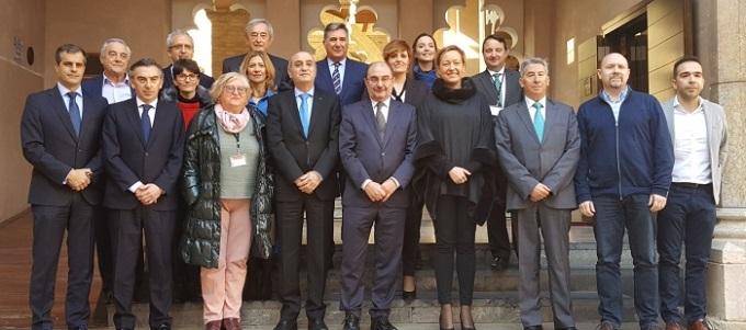 La Mesa del Diálogo Social, galardonada con el Premio de Aragón 2018