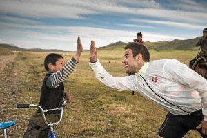 Viviendo grandes experiencias por Mongolia.