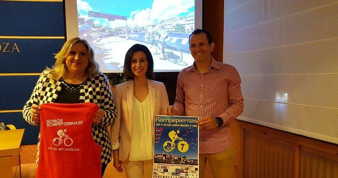 Unos 1.500 ciclistas disputan en Sos del Rey Católico la VII edición de la Rompepiernas