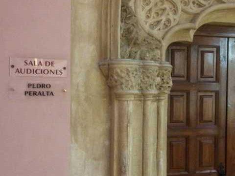 La Escuela Municipal de Música y Danza de Zaragoza rinde homenaje a Pedro Peralta