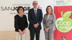 La Universidad San Jorge se une a un proyecto pionero sobre alimentación saludable.