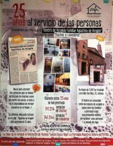 El servicio 'Duchas y Lavadoras' cumple 25 años.