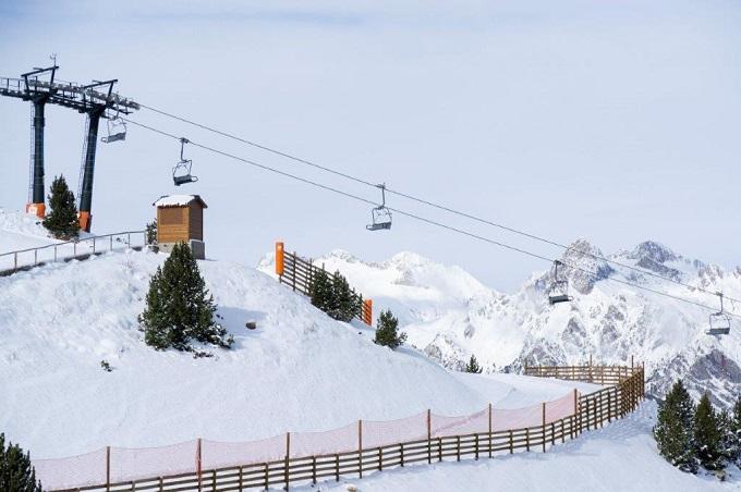 Estación de esquí de Aramón Cerler.
