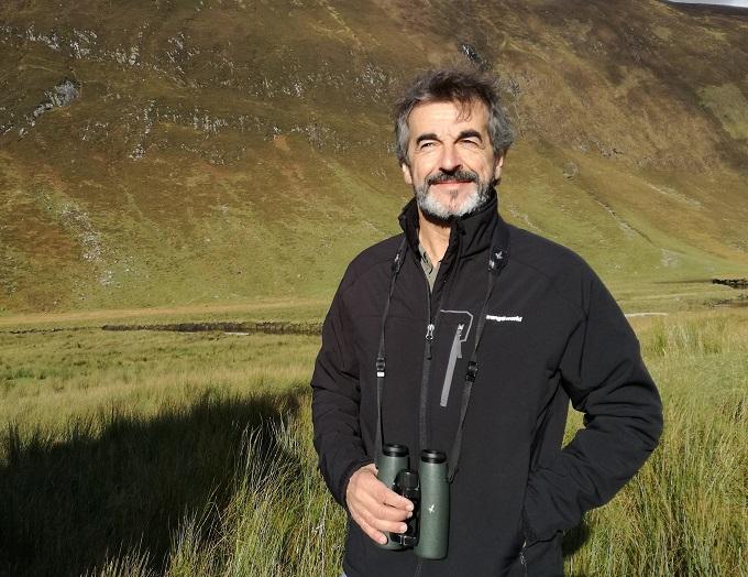 El presidente de la Fundación Oso Pardo, Guillermo Palomero.