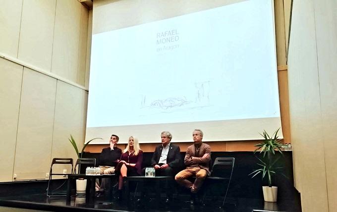 Presentación del documental sobre la arquitectura de Moneo en Aragón.