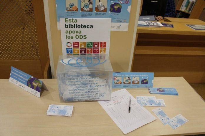 Las horas de estudio en biblioteca de los alumnos de Unizar han contribuido a la Olimpiada Solidaria. de Estudio