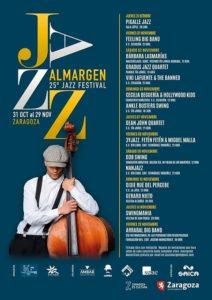Cartel de Jazz Al Margen 2019.