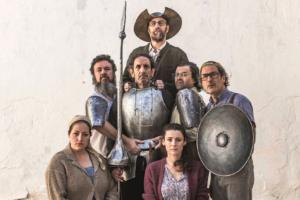 Elenco de 'Don Quijote somos todos', de Teatro del Temple.