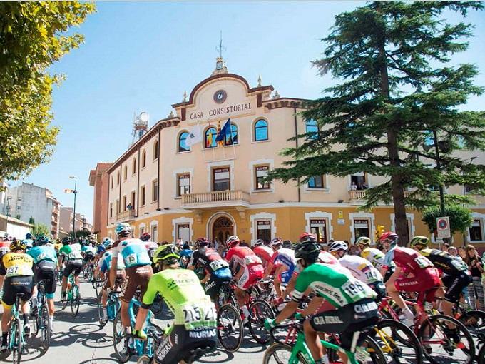 La Vuelta Ciclista a España ya pasó por Ejea en 2018.