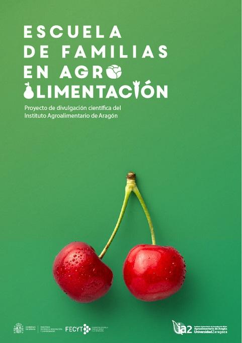 Cartel de la Escuela de Familia en Agroalimentación.