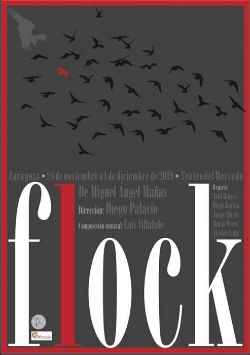 'Flock' se representará en el Teatro del Mercado de Zaragoza.