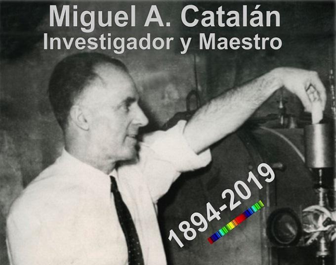 La Facultad de Ciencias inaugura una exposición para celebrar el 125 aniversario del nacimiento de Miguel Catalán