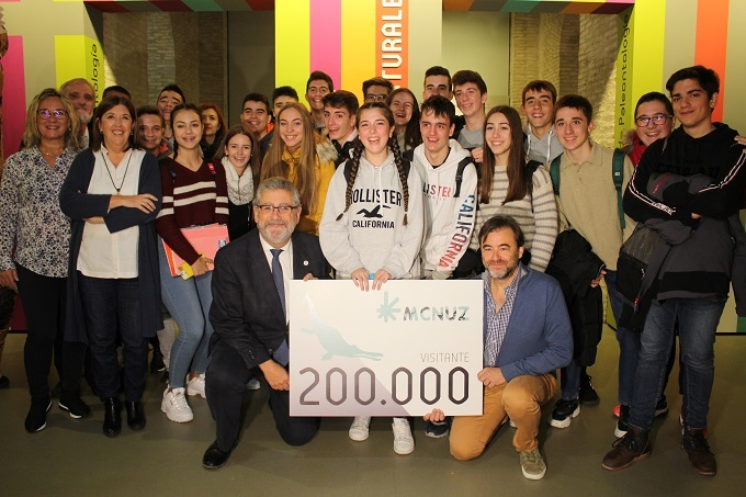 museo ciencias universidad zaragoza visitante 200.000