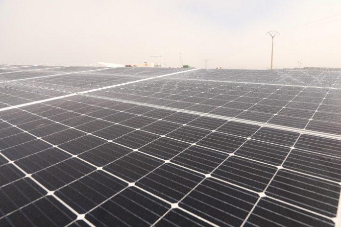 planta fotovoltaica de Solaria en Poleñino