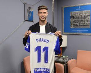 Javier Puado, nuevo jugador del Real Zaragoza.