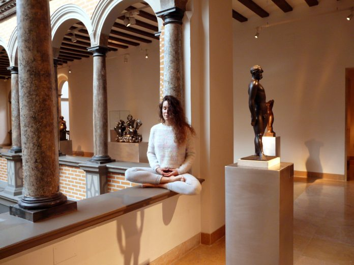 La sesión de meditación y arte se celebrará en el Museo Pablo Gargallo de Zaragoza.